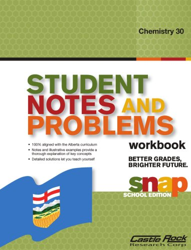 Student Notes and Problems Chemistry 30: Gautam Rao