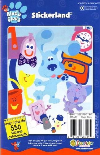 9781553762188: Stickerland: Blue's Clues (stickers)
