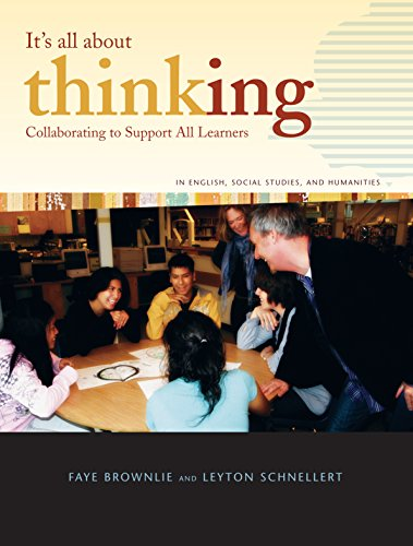 9781553792215: It's All About Thinking: Collaborating to Support All Learners in English, Social Studies, and Humanities