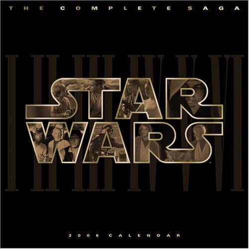 9781553819561: Star Wars Classic 2006 Wall Calendar
