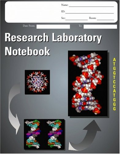 9781553830313: Research Laboratory Notebook