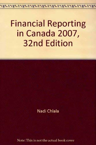 9781553852933: Financial Reporting in Canada