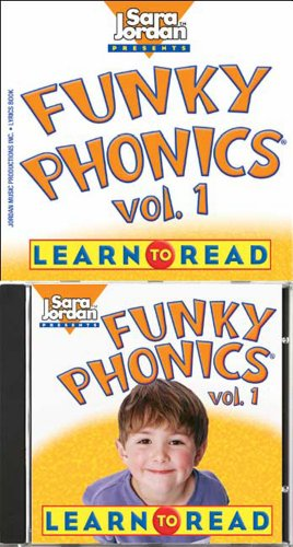 9781553860044: Funky Phonics: Learn to Read, Vol. 1 (Book & CD) (Sara Jordan Presents)