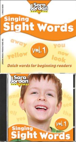 9781553860884: Singing Sight Words, vol. 1, CD/book kit