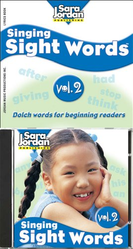 9781553860914: SINGING SIGHT WORDS VOLUME 2 BOOK & CD