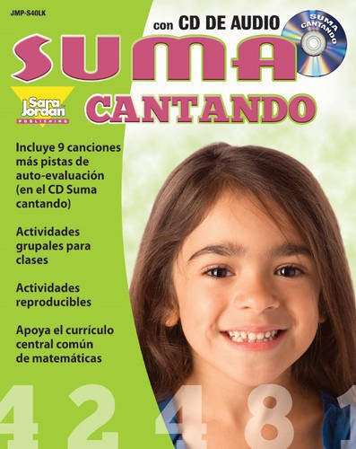 9781553861287: Suma cantando (Addition Songs in Spanish) - Resource/Lyrics Book with Audio CD (Spanish Edition)