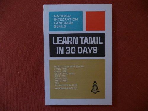 Learn Tamil in 30 Days: N. Jegtheesh