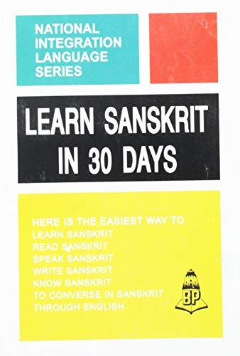 9781553940432: Learn Sanskrit in 30 Days