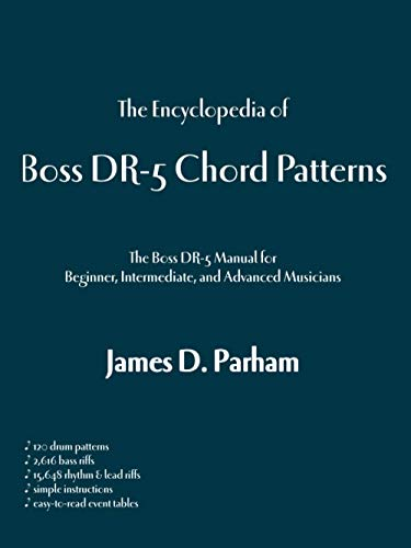 9781553950271: The Encyclopedia of Boss Dr-5 Chord Patterns
