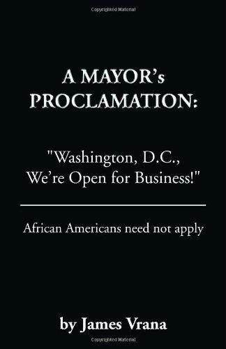 9781553956853: A Mayor's Proclamation: