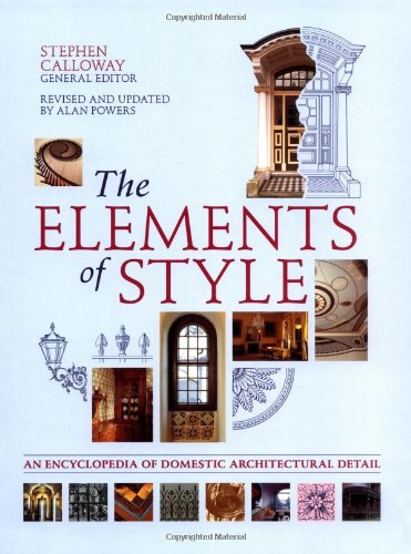 9781554070794: The Elements of Style: An Encyclopedia of Domestic Architectural Detail