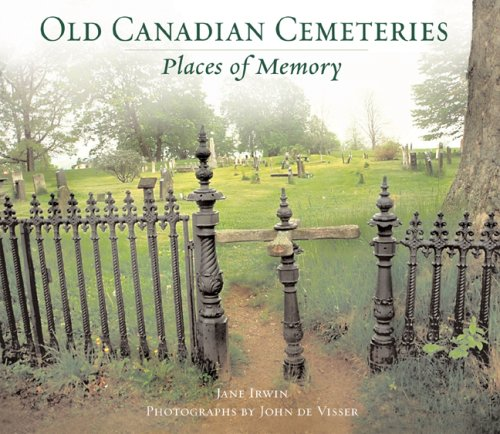 Old Canadian Cemeteries : Places of Memory: Irwin, Jane