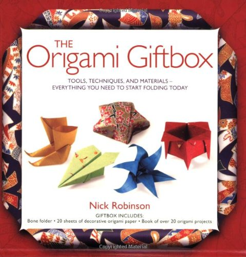 9781554071982: The Origami Giftbox: Tools, Techniques, and Materials -- Everything You Need to Start Folding Today