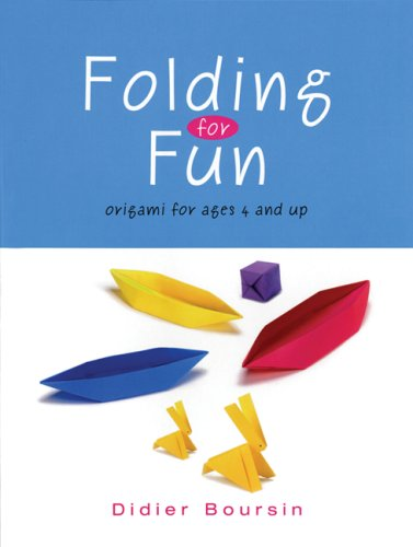 9781554072538: Folding for Fun: Origami for Ages 4 and Up
