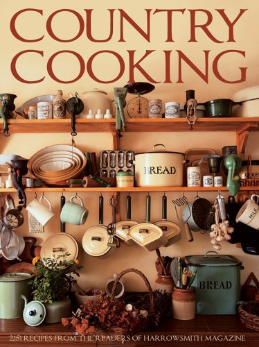 9781554074488: Country Cooking: 2,151 Recipes from the Readers of Harrowsmith Magazine