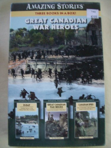 9781554391141: Great Canadian War Heroes (Box Set) (Amazing Stories)