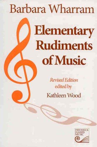 9781554400119: WT01 - Elementary Rudiments of Music