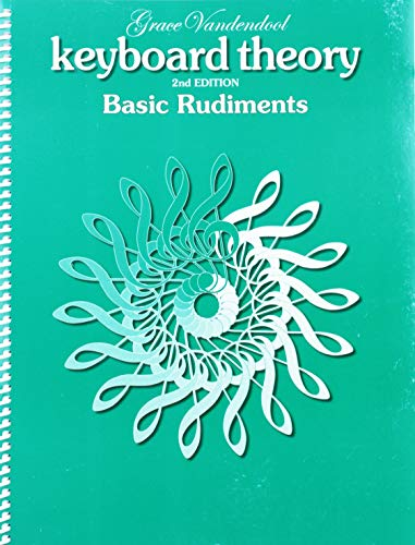 9781554402618: TVT01 - Keyboard Theory, 2nd Edition: Basic Rudiments