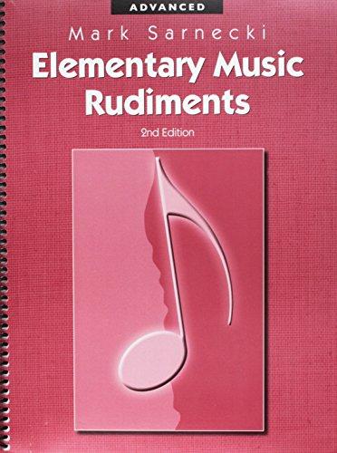 TSR03 - Elementary Music Rudiments, 2nd Edition: Mark Sarnecki
