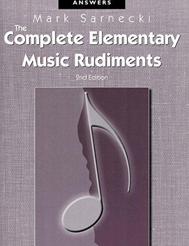 TSCRA - The Complete Elementary Music Rudiments,: Mark Sarnecki