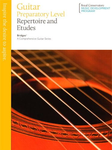 GTB00U - Bridges Guitar Repertoire and Etudes: The Royal Conservatory