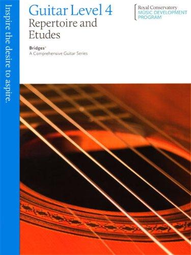 9781554404339: Bridges Guitar Repertoire and Etudes 4 - Guitar - Book