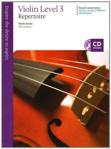 9781554405091: Violin Repertoire Level 3