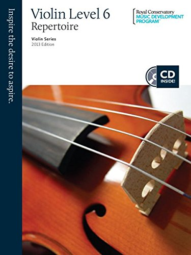 9781554405121: Violin Repertoire Level 6