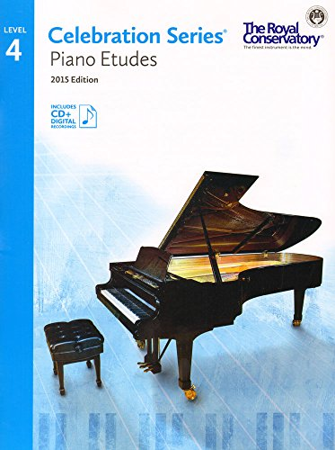 9781554407224: C5S04 - Royal Conservatory Celebration Series - Piano Etudes Level 4 Book 2015 Edition by Royal Conservatory (2015-04-01)