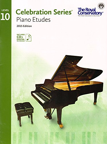 9781554407286: C5S10 - Royal Conservatory Celebration Series - Piano Etudes Level 10 Book 2015 Edition
