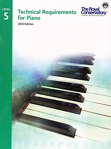 9781554407354: TRP05 - Royal Conservatory Technical Requirements for Piano Level 5 2015 Edition