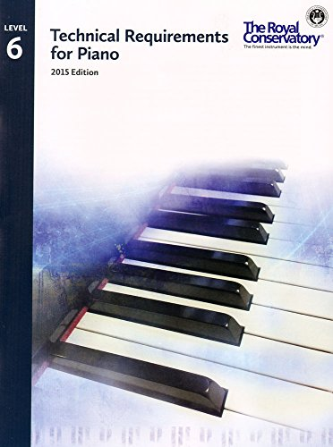 9781554407361: TRP06 - Royal Conservatory Technical Requirements for Piano Level 6 2015 Edition
