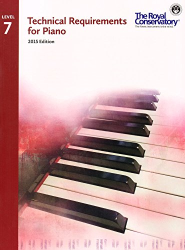 9781554407378: TRP07 - Royal Conservatory Technical Requirements for Piano Level 7 2015 Edition