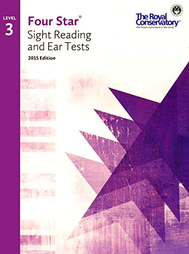 4S03 - Royal Conservatory Four Star Sight Reading and Ear Tests Level 3 Book 2015 Edition: Boris ...