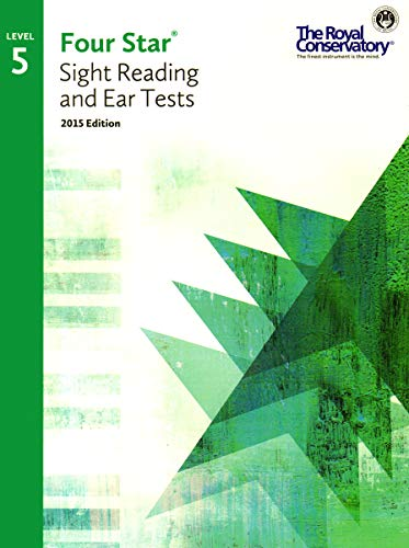 9781554407460: 4S05 - Royal Conservatory Four Star Sight Reading and Ear Tests Level 5 Book 2015 Edition