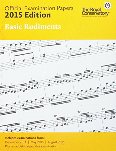 9781554407866: EX1501 - Official Examination Papers: Basic Rudiments 2015 Edition