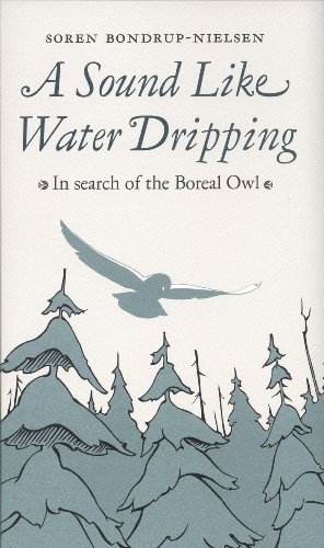 9781554470747: A Sound Like Water Dripping: In Search of the Boreal Owl