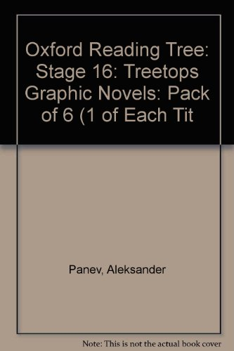 9781554487646: Oxford Reading Tree: Level 16: Treetops Graphic Novels: Pack of 6 (1 of Each Title)