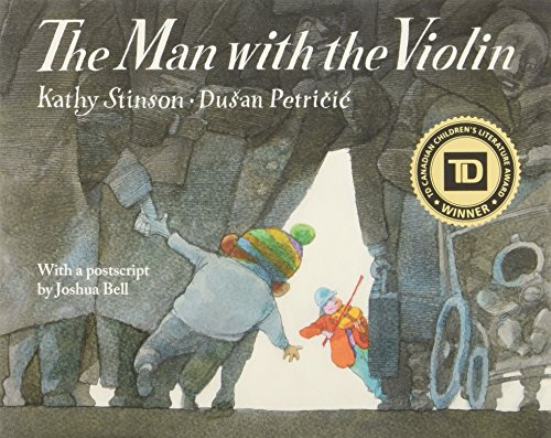 9781554515646: The Man With the Violin