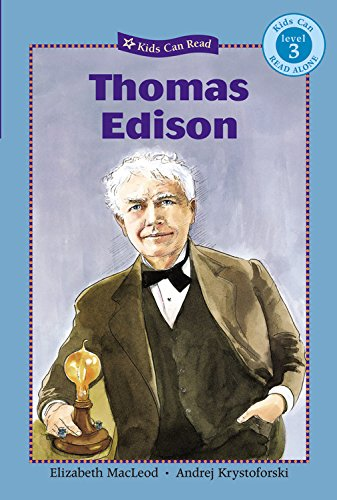 9781554530588: Thomas Edison (Kids Can Read!, Level 3)