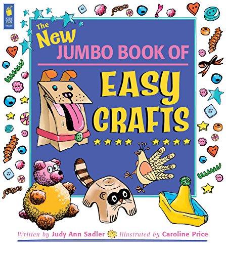 9781554532391: The New Jumbo Book of Easy Crafts (Jumbo Books)