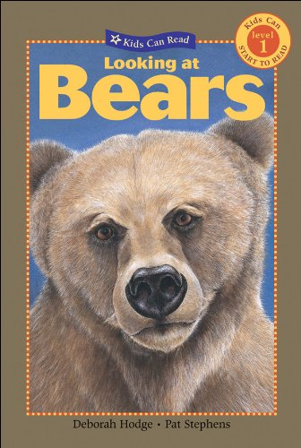 9781554532490: Looking at Bears (Kids Can Read)