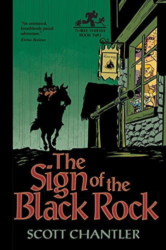 9781554534166: The Sign of the Black Rock (Three Thieves)