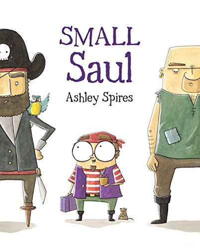 Small Saul 9781554535033 From the creator of Binky the Space Cat, a hilarious story about an unconventional little pirate. Ahoy there! Will this sweet little pirate find his place aboard The Rusty Squid or will he be forced to walk the plank? When Small Saul joins the crew of The Rusty Squid, it doesn't take long for the other pirates to notice something is very different about this tiny fellow. He was born to sing sea shanties, bake pineapple upside down cakes and redecorate, not to hold a sword and plunder. Being rough and tough just isn't in his nature. Small Saul learned at Pirate College that pirates only care about three things: their ship, being tough and lots and lots of treasure. Can Small Saul show these ruffians that despite his gentle spirit, he's worth his weight in gold? With treasure chests of laughs, Small Saul's high-seas adventure is a light-hearted celebration of individuality, perseverance and being true to one's self.