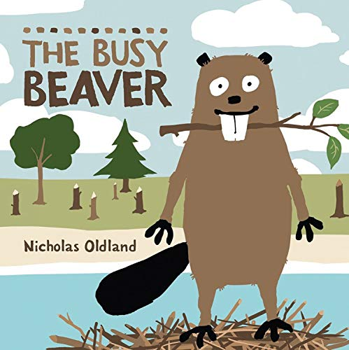 9781554537495: The Busy Beaver (Life in the Wild)