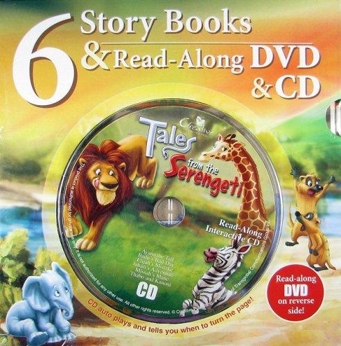 6 Story Books & Read-Along DVD & CD