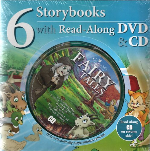 Fairy Tales: 6 Storybooks with Read-Along DVD & CD: Creative Kids Publishing