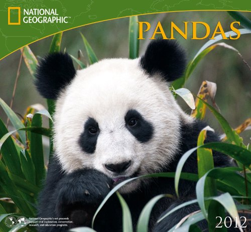 9781554564279: 2012 Pandas - National Geographic Wall calendar