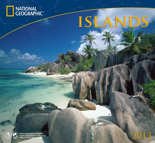 9781554565573: National Geographic Islands 2013 Calendar