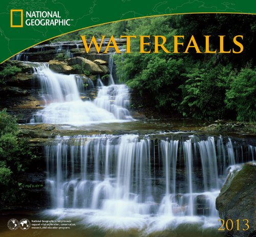 9781554565634: National Geographic Waterfalls 2013 Calendar
